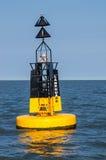 Βασικό σημάδι Landguard, Βόρεια Θάλασσα, Αγγλία Στοκ Φωτογραφίες