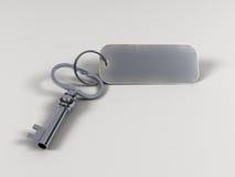 βασικό keytag Στοκ Εικόνες