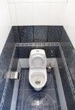 βασικό WC στοκ φωτογραφία με δικαίωμα ελεύθερης χρήσης