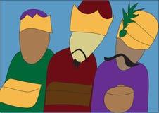 βασιλιάδες τρία Στοκ Εικόνα