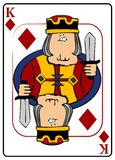 βασιλιάς διαμαντιών διανυσματική απεικόνιση