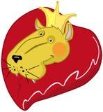 βασιλιάς καρδιών Στοκ φωτογραφία με δικαίωμα ελεύθερης χρήσης