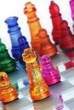 βασιλιάς παιχνιδιών σκακ& Στοκ Φωτογραφία