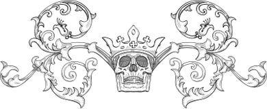 βασιλιάς παλτών όπλων παλ&alpha Διανυσματική απεικόνιση