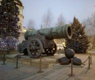 Βασιλιάς-πυροβόλο τσάρος-Pushka στη Μόσχα Κρεμλίνο στοκ εικόνες με δικαίωμα ελεύθερης χρήσης