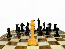 Βασιλιάς σκακιού Στοκ Εικόνα