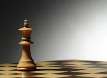 βασιλιάς σκακιού Στοκ εικόνα με δικαίωμα ελεύθερης χρήσης