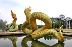 Βασιλιάς του αγάλματος Naga Στοκ Εικόνες