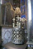Βασιλιάς-φανάρι στον καθεδρικό ναό Χριστουγέννων στο Σούζνταλ στοκ εικόνες με δικαίωμα ελεύθερης χρήσης