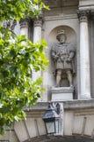 Βασιλιάς Henry VIII άγαλμα στο Λονδίνο Στοκ Εικόνες