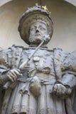 Βασιλιάς Henry VIII άγαλμα στο Λονδίνο Στοκ εικόνες με δικαίωμα ελεύθερης χρήσης