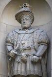 Βασιλιάς Henry VIII άγαλμα στο Λονδίνο Στοκ φωτογραφίες με δικαίωμα ελεύθερης χρήσης