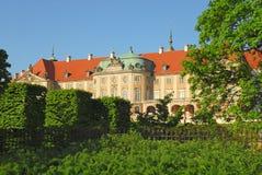 Βασιλική άποψη πρωινού του Castle Στοκ Φωτογραφίες