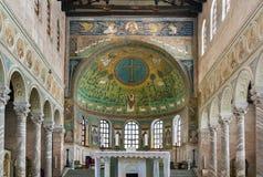 Βασιλική Αγίου Apollinaris σε Classe, Ιταλία Στοκ Εικόνα