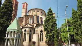 Βασιλική Αγίου Francis στη Μπολόνια απόθεμα βίντεο