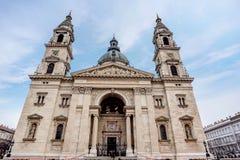 Βασιλική Αγίου Stephen, μεγαλύτερη εκκλησία στη Βουδαπέστη, Ουγγαρία Στοκ φωτογραφία με δικαίωμα ελεύθερης χρήσης