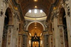 βασιλική Ιταλία Peter Ρώμη s ST Βατ& Στοκ φωτογραφία με δικαίωμα ελεύθερης χρήσης