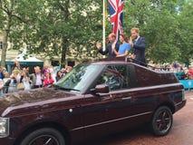 Βασιλική οικογένεια Windsor Στοκ φωτογραφία με δικαίωμα ελεύθερης χρήσης