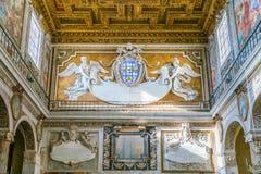 Βασιλική της Σάντα Μαρία σε Ara Coeli, Ρώμη, Ιταλία Στοκ Εικόνα