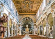 Βασιλική της Σάντα Μαρία σε Ara Coeli, Ρώμη, Ιταλία Στοκ Φωτογραφίες