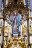 Βασιλική της Σάντα Μαρία del Coro στο San Sebastian - Donostia, Ισπανία στοκ φωτογραφία με δικαίωμα ελεύθερης χρήσης