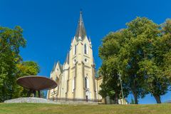 Βασιλική της Virgin Mary Στοκ Φωτογραφία