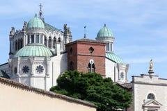 Βασιλική του ARS sur Formans Στοκ φωτογραφία με δικαίωμα ελεύθερης χρήσης