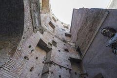 Βασιλική του dei Martiri Angeli ε degli της Σάντα Μαρία στη Ρώμη σε Ju Στοκ Φωτογραφία