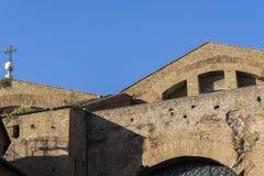 Βασιλική του dei Martiri Angeli ε degli της Σάντα Μαρία στη Ρώμη σε Ju Στοκ εικόνα με δικαίωμα ελεύθερης χρήσης