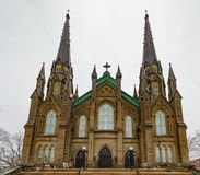 Βασιλική του ST Dunstan σε Charlottetwon PEI Καναδάς στοκ φωτογραφία