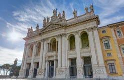 Βασιλική του ST John Lateran, Ρώμη, Ιταλία Στοκ Εικόνες