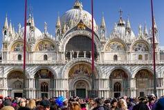 Βασιλική του ST Mark ` s στη Βενετία, Ιταλία Στοκ Φωτογραφία