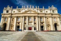 Βασιλική του ST Peter σε Βατικανό, Ρώμη Στοκ Εικόνες