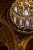Βασιλική του ST Stephen εσωτερική στη Βουδαπέστη Ουγγαρία στοκ εικόνες με δικαίωμα ελεύθερης χρήσης
