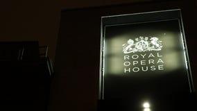 Βασιλική Όπερα στο Λονδίνο απόθεμα βίντεο