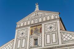 Βασιλική Al Monte SAN Miniato στη Φλωρεντία, Ιταλία. Στοκ φωτογραφία με δικαίωμα ελεύθερης χρήσης