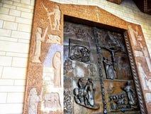 Βασιλική Annunciation, ένας Ρωμαίος - καθολική εκκλησία σε Nazaret Στοκ εικόνες με δικαίωμα ελεύθερης χρήσης