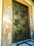 Βασιλική Annunciation, ένας Ρωμαίος - καθολική εκκλησία σε Nazaret Στοκ φωτογραφία με δικαίωμα ελεύθερης χρήσης