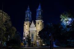 Βασιλική Archcathedral του ST Peter και Σεντ Πολ. Πόζναν. Πολωνία Στοκ εικόνα με δικαίωμα ελεύθερης χρήσης