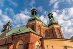 Βασιλική Archcathedral των Αγίων Peter και Paul στο Πόζναν Στοκ Εικόνες