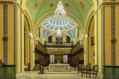 Βασιλική Metropolitana Iglesia Catedral, Σαντιάγο de Κούβα Santa στοκ εικόνες