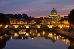 βασιλική Peter Ρώμη s ST στοκ φωτογραφία