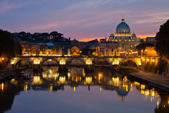 βασιλική Peter Ρώμη s ST στοκ φωτογραφία με δικαίωμα ελεύθερης χρήσης