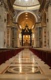 βασιλική Peter s ST Βατικανό Στοκ φωτογραφία με δικαίωμα ελεύθερης χρήσης