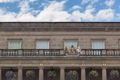 Βασιλική Pump Rooms Leamington Spa στοκ φωτογραφίες