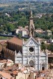 Βασιλική Santa Croce Στοκ φωτογραφία με δικαίωμα ελεύθερης χρήσης