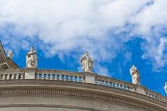 βασιλική ST stephen μπαλκονιών στοκ φωτογραφία με δικαίωμα ελεύθερης χρήσης