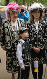 βασιλικός γάμος οικογ&epsi στοκ εικόνες