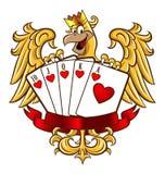Βασιλικός επίπεδος αετός Στοκ εικόνα με δικαίωμα ελεύθερης χρήσης