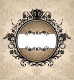 βασιλικός τρύγος πλαισί&ome απεικόνιση αποθεμάτων